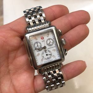 Michele Deco Diamond Watch with Band